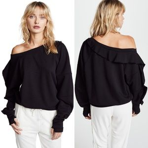 Free People • Movement Ruffle Trim One Shoulder